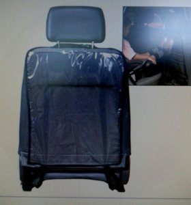 Защита переднего сиденья авто от грязных ножек