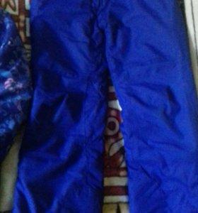 Горнолыжный костюм на девочку 9 лет