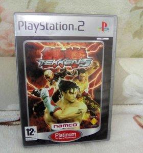 Tekken 5 на Playstation 2 лицензионный