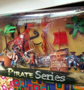 Набор пиратов. Новый.