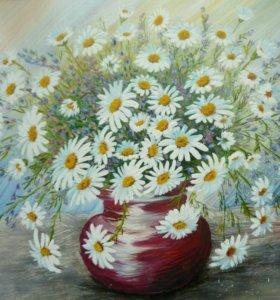 Обучение живописи маслом.картины на заказ