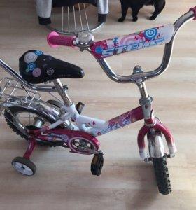 Велосипед, буран и 3 самоката