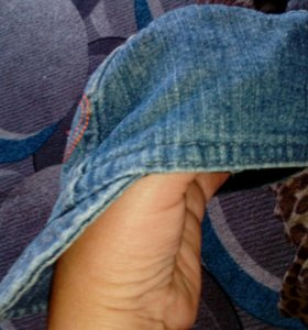 Кепочка джинсовая