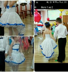 Платье 116-122 рост