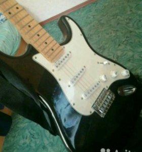 Электро гитара +чехол+усилок