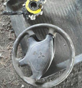 Руль и вертолет на митсубиси каризма 2001