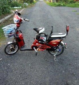 Электрический вело-мопед