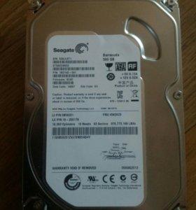 Жесткий диск 500Гб.