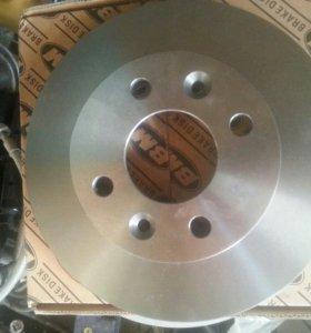 Передние тормозные диски Рено Логан