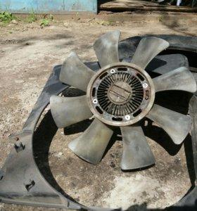 Вентилятор с муфтой на Мазда Титан