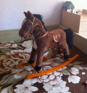 Лошадка-качалка!