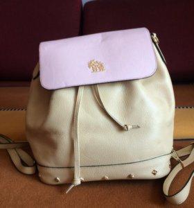 Рюкзак, новый, кожа