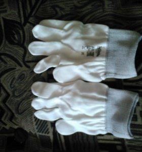 Перчатки нейлоновые,хозяйственные.