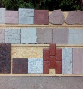 Плитка тротуарная.Элементы декора