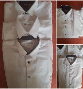 Сорочки белые для школы