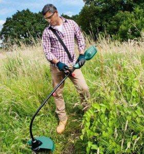 Покос травы триммером , не дорого