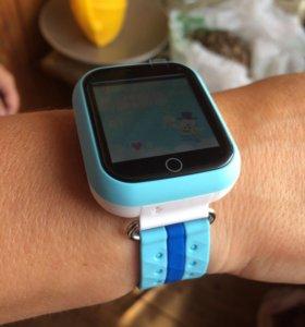 Детские умные часы Q750(Q100/gw200) +🎁Spinner