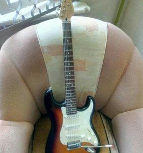 Гитара и комбоусилитель cruiser by crafter