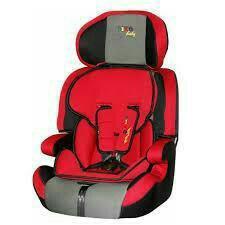 Автокресло Liko - Baby LB515 Серый/ Красный