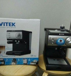Продаю новую кофеварку VT-1511 BK
