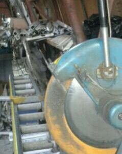 Станок отрезной для ПВХ и Алюминиевого профиля