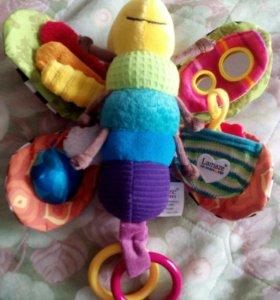 Lamaze бабочка развивающая игрушка (новая)