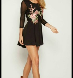 Новое платье-комбинезон