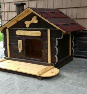 Будка / домик для кошек и собак средних пород