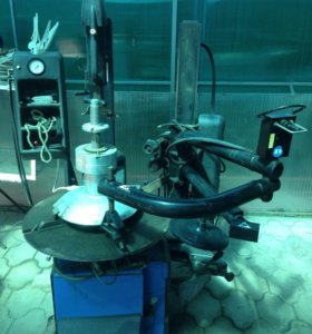 Шиномонтажный и балансировочный станки Hofmann