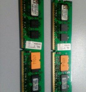 Память DDR2 Kingston KVR667D2N5K2/2G