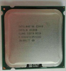 Intel xeon Е5440, 775 сокет, 4 ядра