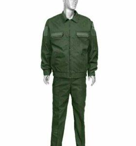 Военная офисная форма.