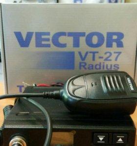 Автомобильная Си-Би радиостанция (27МГц)