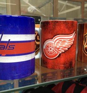 Кружки с хоккейной символикой