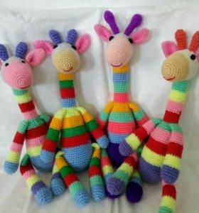 Игрушки амигуруми для ваших деток