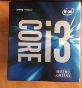Intel Core I3 6100 Box