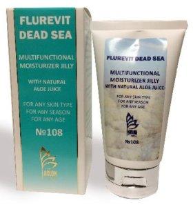 Желе для ухода за кожей с Флуревитами и минералами Мертвого моря