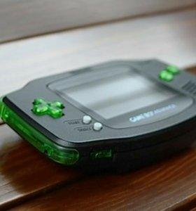 Геймбой GameBoy Advance (Custom Backlit Mode)