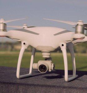 Аэросъемка с дрона (DJI Phantom 4) фото и видео