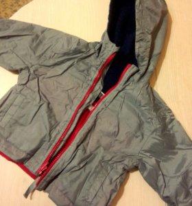 Куртка для мальчика 3 в 1