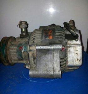 Генератор на дизель 2СТ с вакуумным насосом