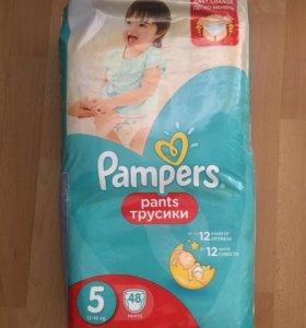 Pampers Pants 5 (12-18 кг) 48 штук