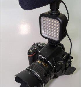Накамерный свет LED64