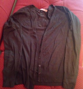 Кофта женская коричневая размер L
