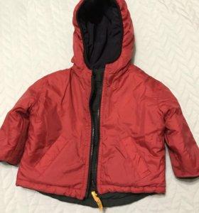 Куртка на мальчика демисезон