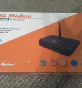 Модем Acorp ADSL2+ W422G с Wi-fi