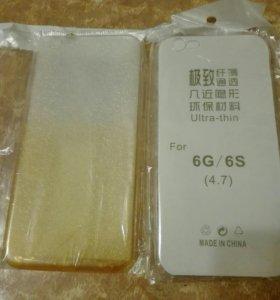Селиконовый чехол на iPhone6,6s