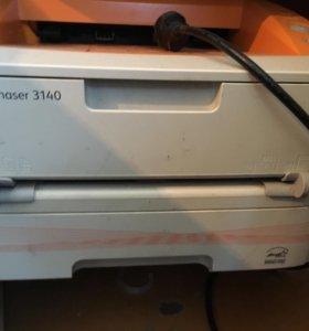Принтер xerox phaser 3140 на запчасти
