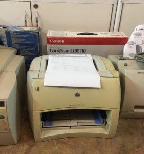 Принтер нр 1200 лазерный