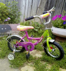 Детский велосипед Барсик
